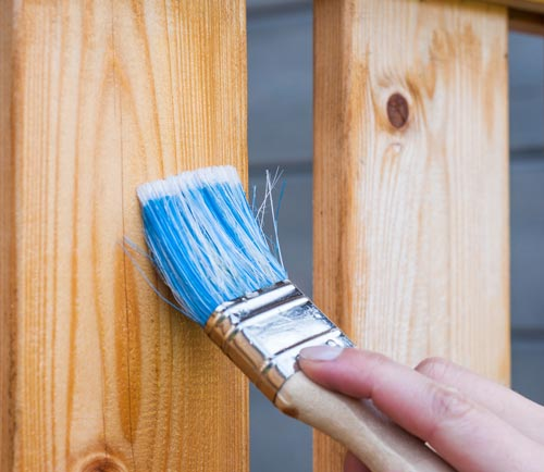 staining fence wood stain how to home improvement