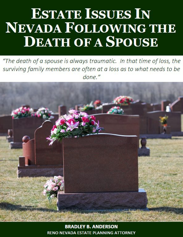 Estate Issues in Nevada Following the Death of a Spouse