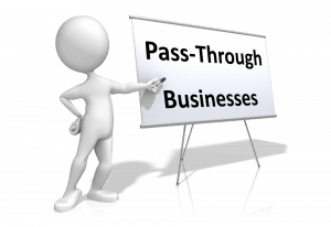 pass-through businesses