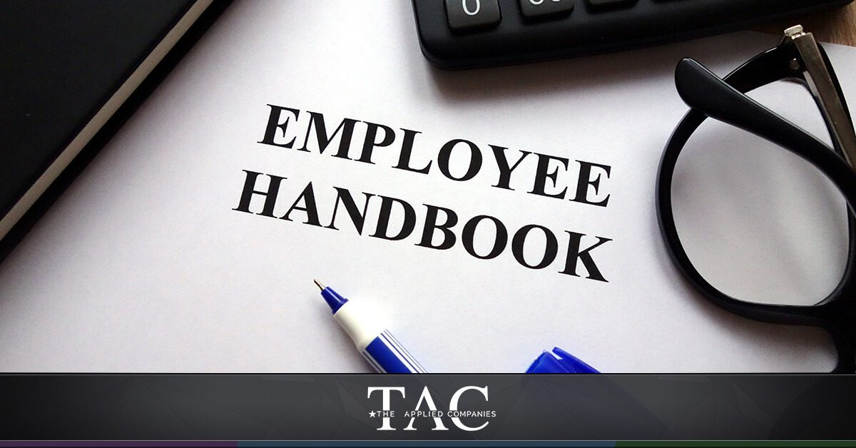 the applied companies employee handbook
