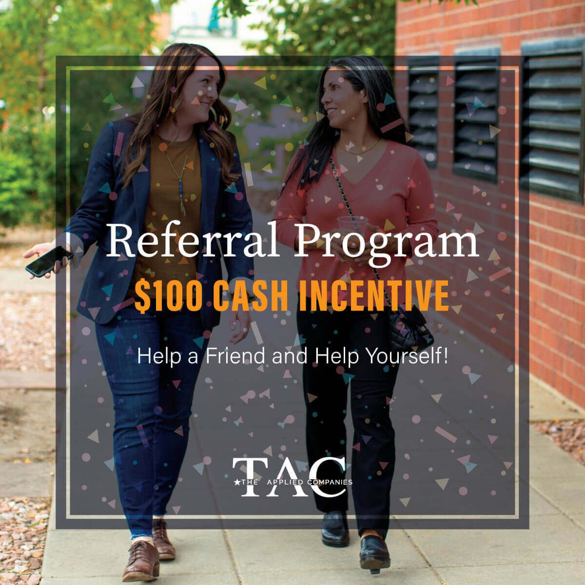 the applied companies referral program