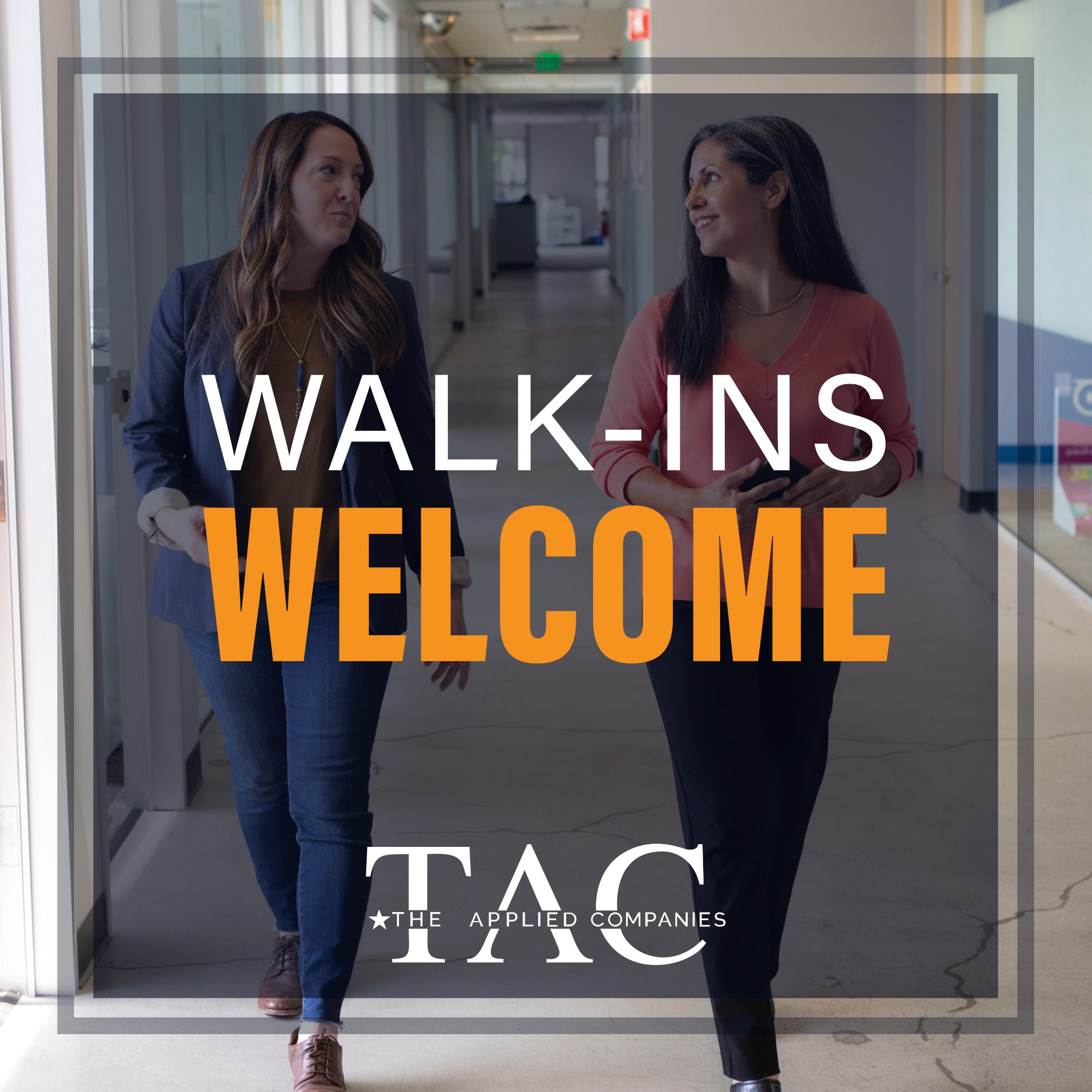 the applied companies - walk ins