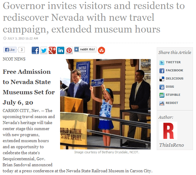 rediscover Nevada with new travel campaign