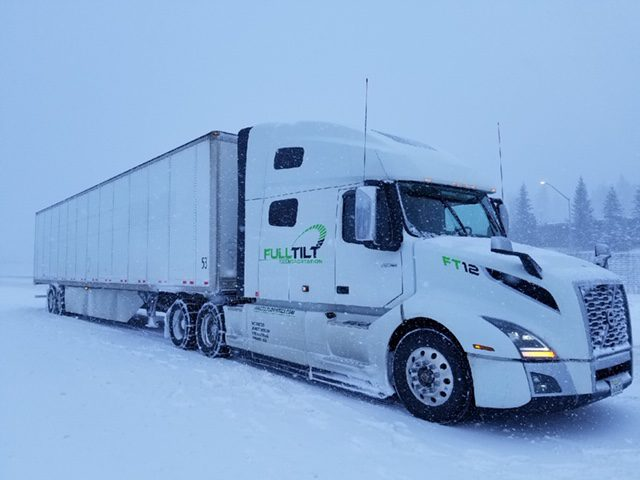 Winter Freight Shipping