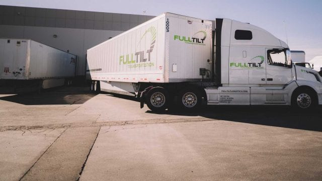 Full Tilt Logistics high value shipments