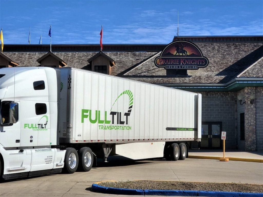 full tilt logistics transportation solution