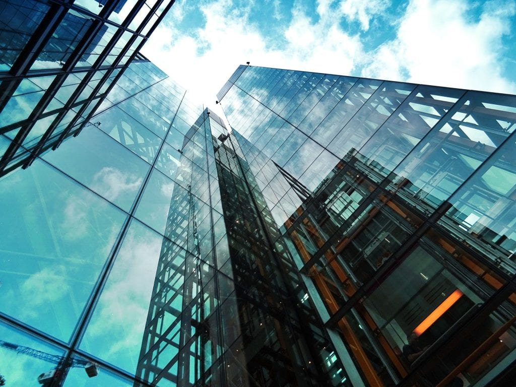 commercial glass curtain walls