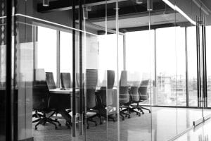 glass partition office walls