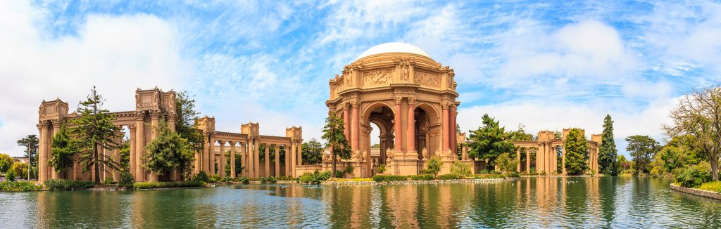 Palace of Fine Arts Building in San Francisco, California