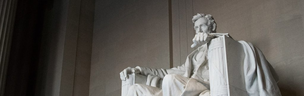 The Lincoln Memorial in Washington, D.C.