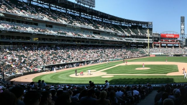 student tours to baseball fields