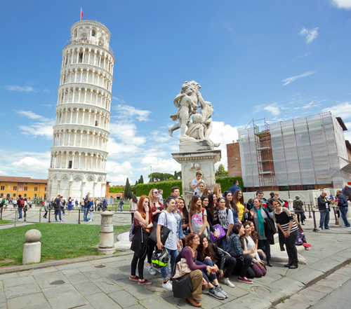 customized band trips leaning tower pisa