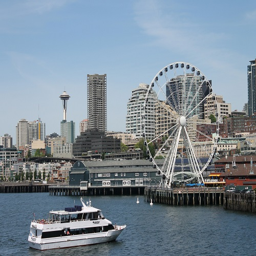 take the ferry in seattle