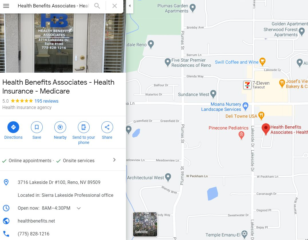 HBA Location on a Map