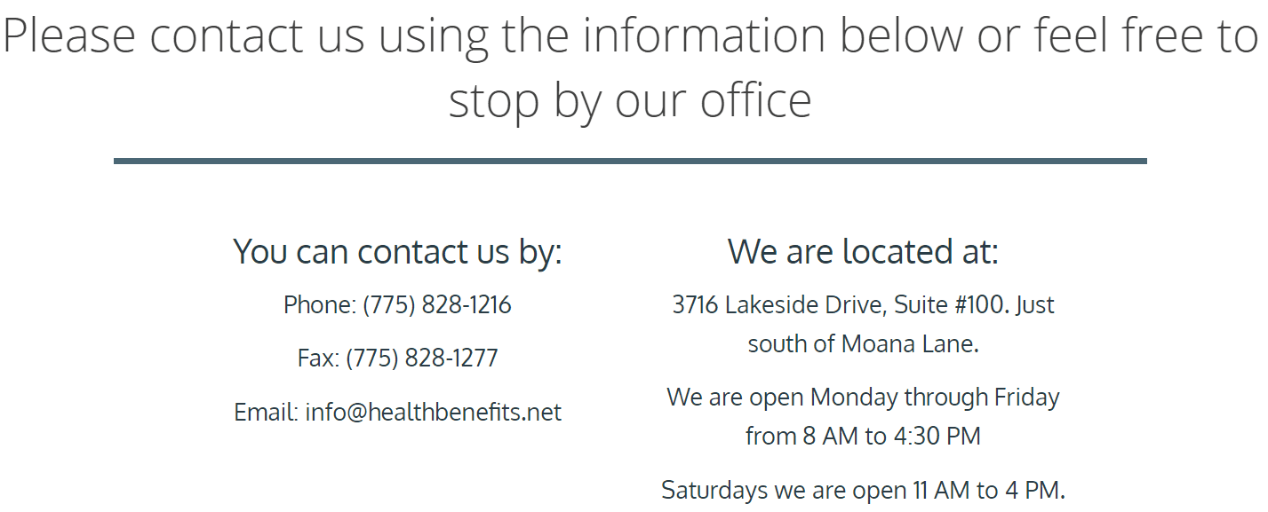HBA Contact Information