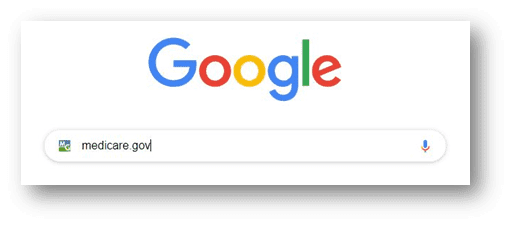 Google Search for Medicare