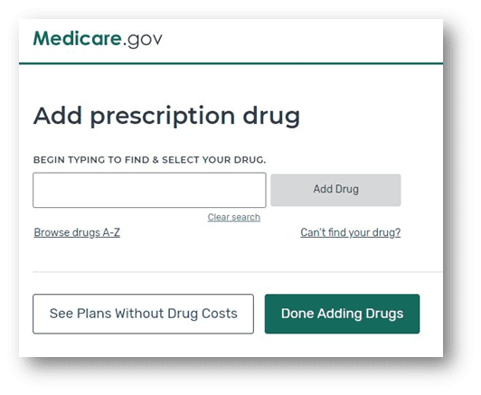 Adding your drugs