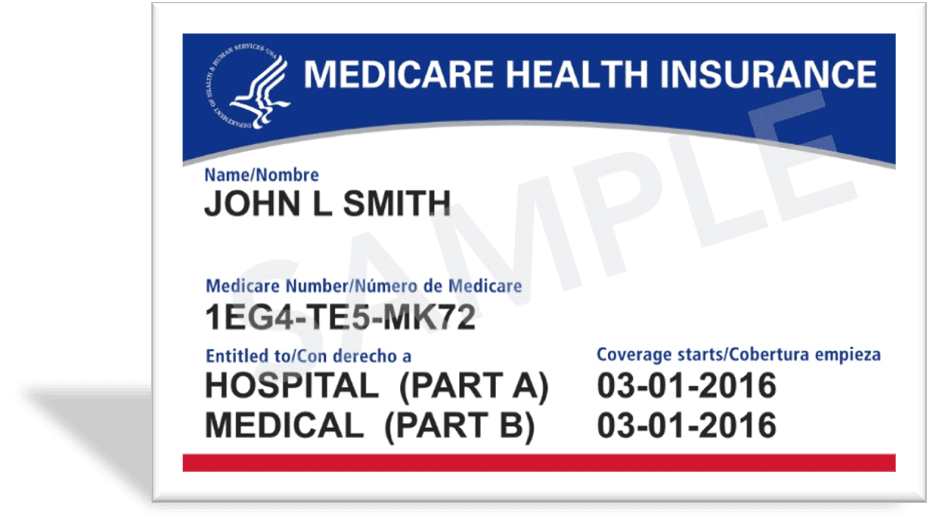 Medicare Card from Social Security
