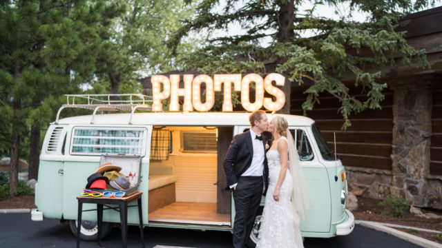 bride and groom photo booth gallery shot