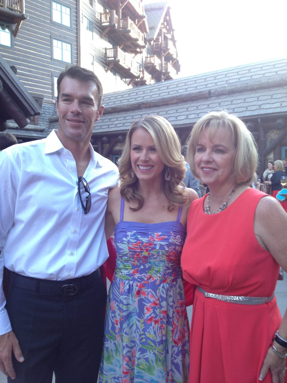 JoAnn with Ryan and Trista